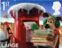 1st Class Large Letter Christmas Stamp S/A Gum rising to £1.15 from 23rd March